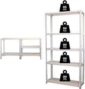 estantería metálica nawa
