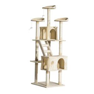 pawhut estantería gato