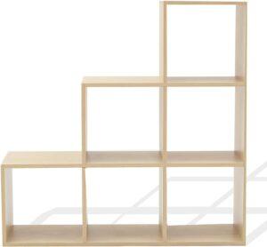 estantería de madera rebecca mobili