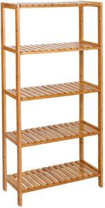 estantería de madera songmics