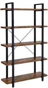 estantería de madera vasagle