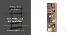 mejores estanterías de madera