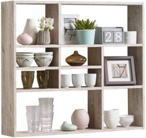 estantería decorativa recomendada