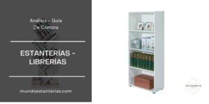 mejores estanterías - librerías