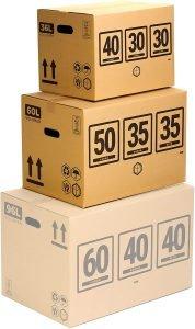 caja d ecartón mudanza telecaja
