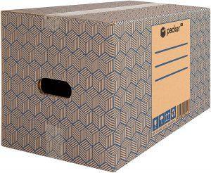 caja de cartón para mudanza packer