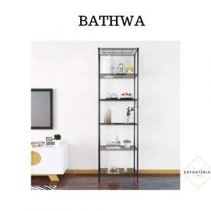 bathwa estantería estrecha