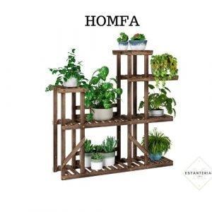 homfa estantería para plantas
