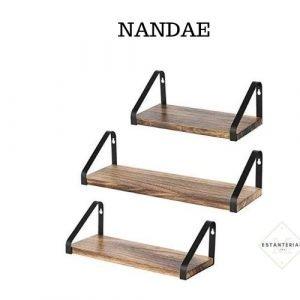 balda de madera nandae