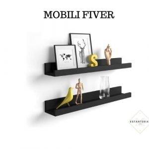 estantería para cuadros mobili fiver