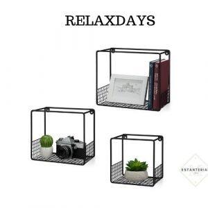 estanteria para cuadros relaxdays