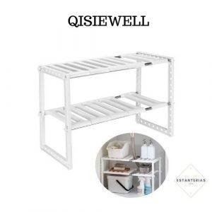 estantería baja qisiewell