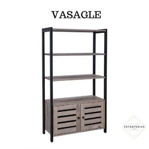 estantería dormitorio vasagle