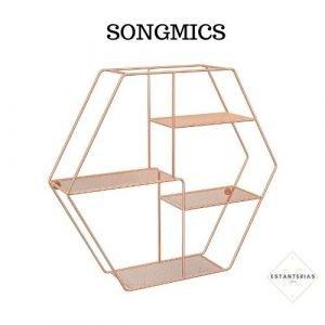estantería hexagonal SONGMICS