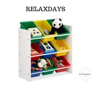 estantería juguete relaxdays