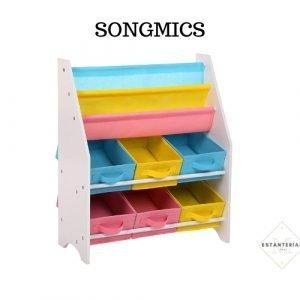 estantería juguete songmics