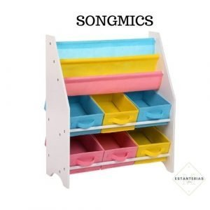 estanteria montessori songmics