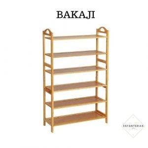 estantería nórdica bakaji