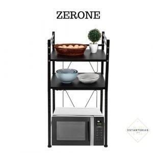 estantería para microondas zerone