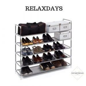 estantería para zapatos relaxdays