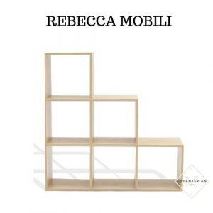 estantería rebecca mobili