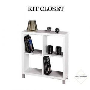 estanteria recibidor kit closet