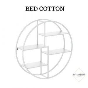 estanteria redonda bed cotton