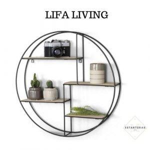 estanteria redonde lifa living