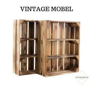 estantería rústica vintage mobel