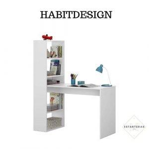 mesa con escritorio habitdesign